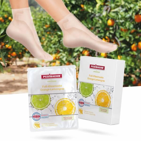 PEDIBAEHR Fuß-Vliesmaske: Intensive Pflege und Entspannung pur